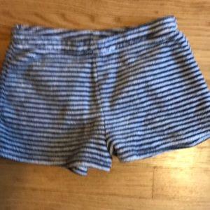 Ladies/junior size small pajama shorts